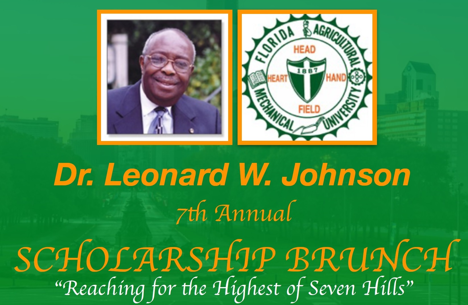 7th Annual Dr. Leonard W. Johnson Scholarship Brunch